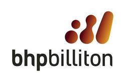 BHP Billiton logo is seen in this undated handout photograph made available on November 13, 2007. REUTERS/BHP Billiton/Handout