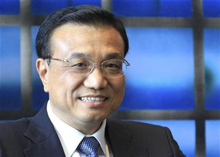 China's Vice Premier Li Keqiang attends a meeting with European Commission President Jose Manuel Barroso at the EU Commission headquarters in Brussels May 3, 2012. REUTERS/Yves Herman