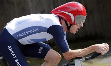 Wiggins in hospital after collision with van