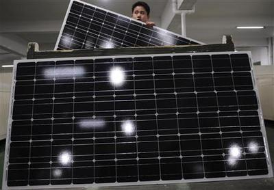 Trade panel approves duties on China solar products