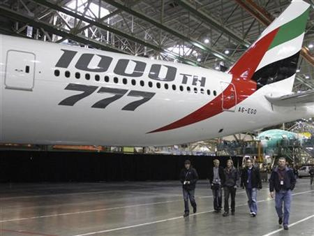 Emirates may replace fleet of 777s jets with new model