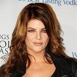 """La actriz Kirstie Alley describió el miércoles cómo se enamoró hace más de 20 años de John Travolta y rechazó la especulación que circula por Hollywood de que la estrella de """"Grease"""" sea gay en secreto. En la imagen, de 27 de enero, la actriz Kirstie Alley."""