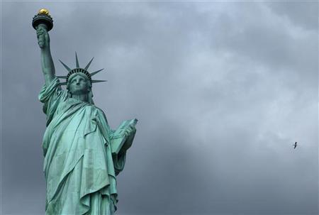The Statue of Liberty is seen in New York October 27, 2012. REUTERS/Carlo Allegri