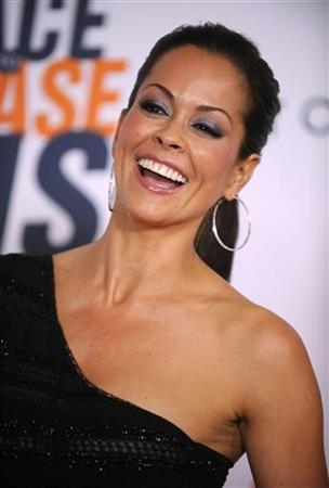 Brooke Burke attends the 17th annual Race to Erase MS gala in Los Angeles May 7, 2010. REUTERS/Phil McCarten/Files