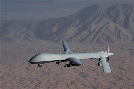A MQ-1 Predator unmanned aircraft in an undated photo. REUTERS/U.S. Air Force