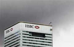 The HSBC building is seen on Canary Wharf in London May 11, 2011 REUTERS/Olivia Harris