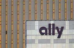 An Ally Financial sign is seen on a building in Charlotte, North Carolina May 1, 2012.REUTERS/Chris Keane