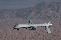 Undated handout image courtesy of the U.S. Air Force shows a MQ-1 Predator unmanned aircraft. REUTERS/U.S. Air Force/Lt Col Leslie Pratt/Handout