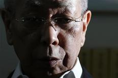 "Hiroyuki Kurihara speaks during an interview with Reuters in Tokyo October 1, 2012. The Kurihara family are the former owners of the disputed islands in the East China Sea, known as Senkaku in Japan, Diaoyu in China and Tiaoyutai in Taiwan. Surrounded by concrete walls, security cameras and warnings of guard dogs, Kunioki Kurihara has shunned the spotlight in his compound since closing a deal to sell three uninhabited islands in the East China Sea to Japan's government in September. The islands are also claimed by China and deemed part of its national territory for centuries. Their $25.5 million sale sent tension soaring between Tokyo and Beijing. Kurihara's younger brother Hiroyuki, who describes himself as family spokesman, has used his sudden fame to promote a book, ""Senkaku Islands for Sale"" -- and a longshot plan to turn the islands into a centre for medical tourism. Picture taken October 1, 2012. REUTERS/Toru Hanai"