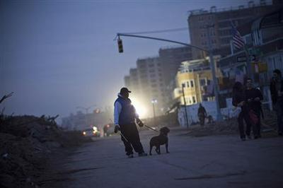 Northeast cleans up from Superstorm Sandy, death toll...
