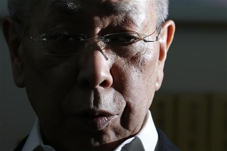 Hiroyuki Kurihara speaks during an interview with Reuters in Tokyo October 1, 2012. REUTERS/Toru Hanai