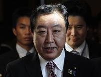 Il premier giapponese Yoshihiko Noda. REUTERS/Sukree Sukplang