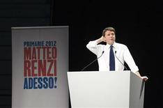 Una immagine di Matteo Renzi REUTERS/Giorgio Perottino