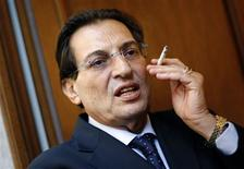 File photo of new Sicily governor Rosario Crocetta taken during an interview in Rome November 8, 2012. REUTERS/Max Rossi