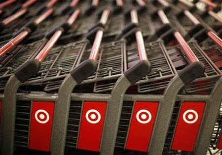 Shopping carts are seen in a CityTarget store in downtown Chicago July 18, 2012. REUTERS/Jim Young