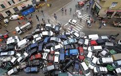 L'alluvione a Genova dello scorso anno REUTERS/Alessandro Garofalo