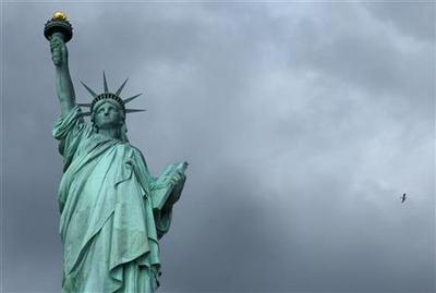 Statue of Liberty storm damage will take month to assess