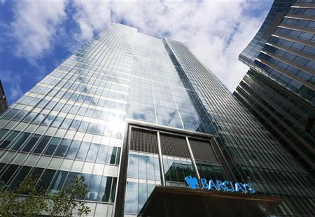 Barclays bank headquarters is seen in Canary Wharf, east London August 30, 2012. REUTERS/Olivia Harris