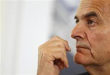 Il leader del partito denocratico Pier Luigi Bersani. REUTERS/Tony Gentile