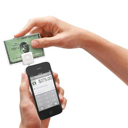 Square, a mobile payment platform, is shown in use with a smartphone in this undated publicity photograph.REUTERS/Courtesy Square/Handout