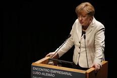 Il cancelliere tedesco Angela Merkel. REUTERS/Rafael Marchante