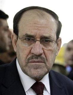 Iraq's Prime Minister Nuri al-Maliki attends the opening ceremony of the Defence University for Military Studies inside Baghdad's heavily-fortified Green Zone June 17, 2012. REUTERS/Thaier al-Sudani