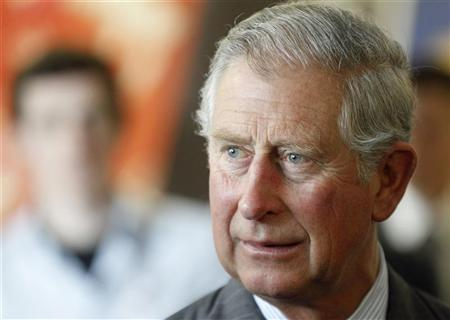 Britain's Prince Charles tours a digital media zone at Ryerson University in Toronto, May 22, 2012. REUTERS/Mark Blinch