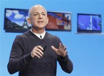 Steven Sinofsky, the President of the Windows and Windows Live Division at Microsoft, speaks at the launch event of Windows 8 operating system in New York, in this October 25, 2012 file photo. REUTERS/Lucas Jackson/Files