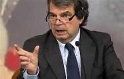 L'ex ministro Renato Brunetta. REUTERS/Max Rossi