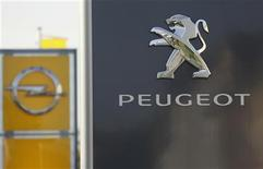 GM e Peugeot mettono in stand-by alleanza. REUTERS/Wolfgang Rattay