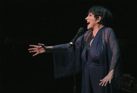 Singer Liza Minnelli performs during a tribute concert to composer Marvin Hamlisch in New York September 18, 2012. REUTERS/Lucas Jackson