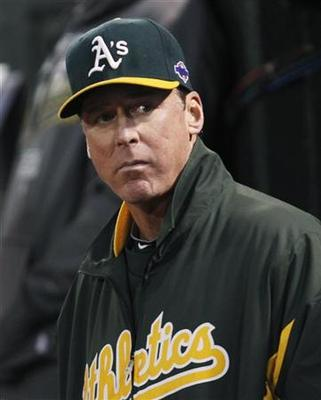 A's Melvin, Nats' Johnson named managers of the year