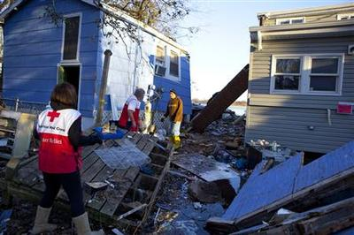 Insight: Red Cross response to Sandy fails to meet expectations