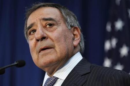 U. S. Defense Secretary Leon Panetta speaks during a news conference at the annual Australia-United States Ministerial (AUSMIN) meetings in Perth November 14, 2012. REUTERS/Matt Rourke/Pool