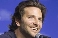 "Actor Bradley Cooper attends a news conference to promote his film ""Silver Linings Playbook"" during the 37th Toronto International Film Festival September 9, 2012. REUTERS/Fred Thornhill"