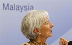 International Monetary Fund (IMF) Managing Director Christine Lagarde speaks during a news conference in Kuala Lumpur November 14, 2012. REUTERS/Bazuki Muhammad