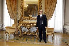 Il governatore della Banca d'Italia Ignazio Visco. REUTERS/Giampiero Sposito