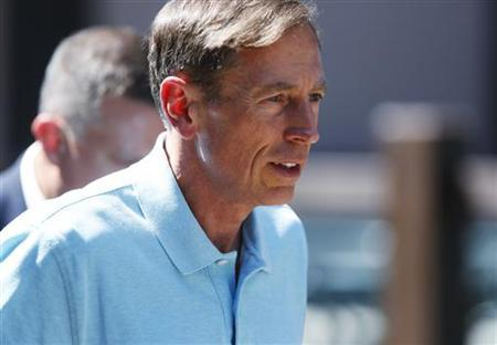 General David Petraeus attends the Allen & Co Media Conference in Sun Valley, Idaho July 12, 2012. REUTERS/Jim Urquhart/Files
