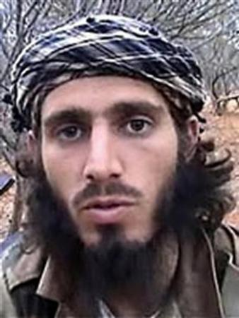 Omar Shafik Hammami, a 28-year-old American from Alabama who traveled to Somalia and became a prominent spokesman for its al Shabaab rebels, is pictured in this undated handout photo obtained by Reuters November 14, 2012. REUTERS/FBI/Handout