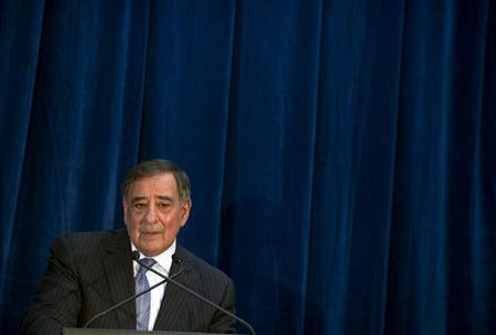 U.S. Defense Secretary Leon Panetta speaks during a news conference following meetings as part of the Australia-United States Ministerial Consultation (AUSMIN) at the State Reception Centre in Kings Park in Perth November 14, 2012. REUTERS/Saul Loeb/Pool