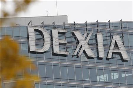 The Dexia tower is seen in La Defense, near Paris, November 8, 2012. Belgium and France will pay 5.5 billion euros ($7 billion) to take almost full control of Dexia in the hope this third bailout will be the last for the bank that was once the world's largest municipal lender. REUTERS/John Schults