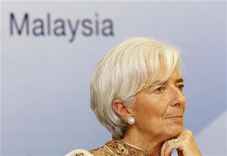International Monetary Fund (IMF) Managing Director Christine Lagarde listens to a question during a news conference in Kuala Lumpur November 14, 2012. REUTERS/Bazuki Muhammad