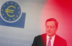 Il presidente della Banca centrale europea Mario Draghi. REUTERS/Lisi Niesner