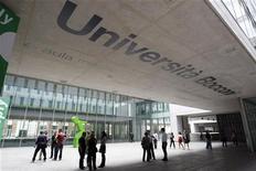 La sede dell'università Bocconi a Milano. REUTERS/Alessandro Garofalo