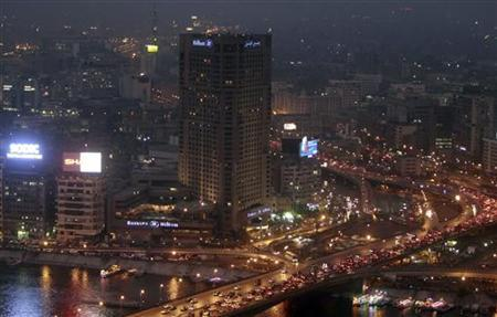 A view of the city skyline and River Nile from Cairo tower building, October 27, 2011. REUTERS/Amr Abdallah Dalsh