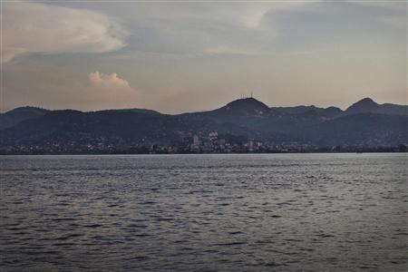 A view of Sierra Leone's capital Freetown is seen from the water November 14, 2012. REUTERS/Joe Penney