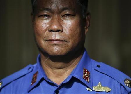 Myanmar's Deputy Defense Minister Brig Gen Aung Thaw poses for a photo after an exclusive interview with Reuters at his ministry in Naypyitaw September 20, 2012. REUTERS/Damir Sagolj