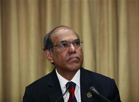 Reserve Bank of India (RBI) Governor Duvvuri Subbarao attends the monetary policy review meeting in Mumbai January 24, 2012. REUTERS/Danish Siddiqui/Files