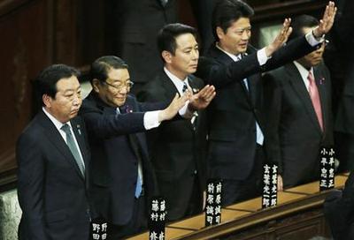 Leading Japan politicians draw election battle lines