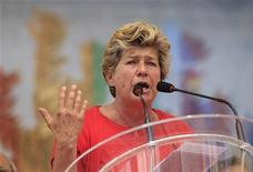 La leader della Cgil, Susanna Camusso. REUTERS/Max Rossi